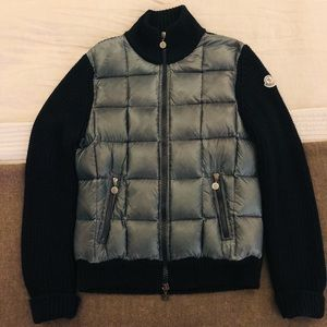 Men's Moncler Navy Maglione Tricot Cardigan - L